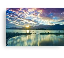 Copper Mines Sunrise Canvas Print