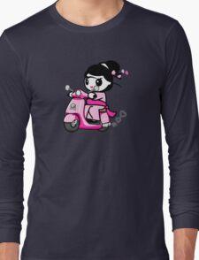 Scooter Geisha Long Sleeve T-Shirt