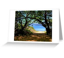 Station Beach - Sydney - Australia Greeting Card