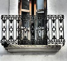 balcony - balcón by Bernhard Matejka