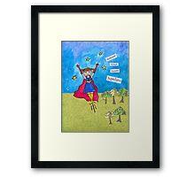Release Your Inner Superhero Framed Print