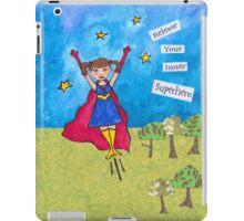 Release Your Inner Superhero iPad Case/Skin