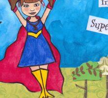 Release Your Inner Superhero Sticker
