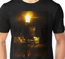 Virginia City Nevada ~ After Dark On The Boardwalk Unisex T-Shirt