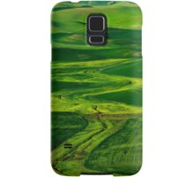 Ribbons of Green Samsung Galaxy Case/Skin
