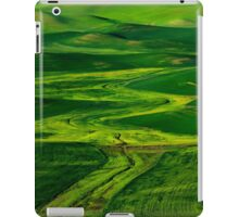 Ribbons of Green iPad Case/Skin