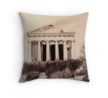 Parthenon, Athens Throw Pillow