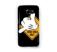 Good Vibes - Hang Loose Fingers Samsung Galaxy Case/Skin