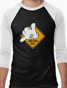 Good Vibes - Hang Loose Fingers Men's Baseball ¾ T-Shirt
