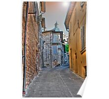 Assisi alley Poster