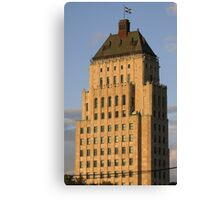 Price bulding - Quebec City Canvas Print