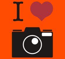 I Heart Camera no Label Kids Clothes
