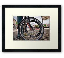 Wheel Within A Wheel Framed Print