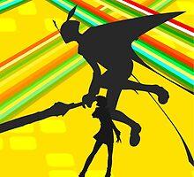 Persona 4 - Naoto by Luke Stevens