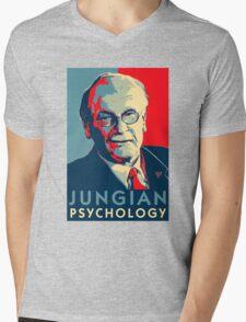Carl Jung Psychology Mens V-Neck T-Shirt