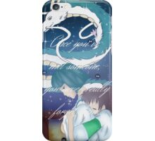 Spirited Away Fan Art Print iPhone Case/Skin