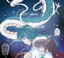 Spirited Away Fan Art Print by Erzascarletttt