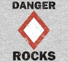 Danger Rocks Nautical Signage by Garaga