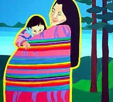 Mother And Child 6 by Jamie Winter-Schira