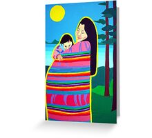 Mother And Child 6 Greeting Card