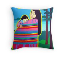 Mother And Child 6 Throw Pillow