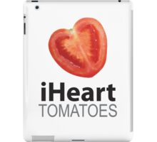 iHeart Tomatoes iPad Case/Skin