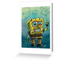 Grunge Bob Greeting Card