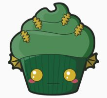 Spooky Cupcake - Swamp Thing by pai-thagoras