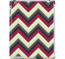 Modern Red Chevrons iPad Case/Skin