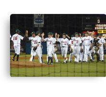 Opening Night Win Canvas Print