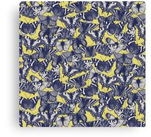 butterfly yellow Canvas Print