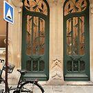Art Deco door by bubblehex08
