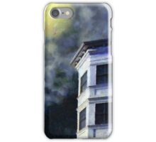 Ominous Night at Hexagon House iPhone Case/Skin