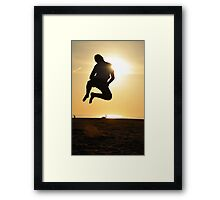 Beach Fun - Praia da Falesia, Algarve Framed Print