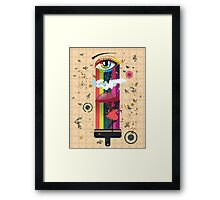 Colorful Surreal Fairy Framed Print