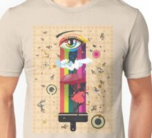Colorful Surreal Fairy Unisex T-Shirt