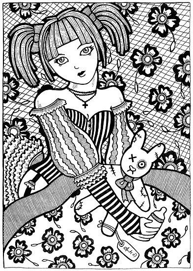 Bunny Hug by Anita Inverarity