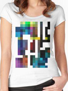 TEKO Women's Fitted Scoop T-Shirt