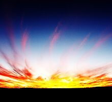 Karoo Sunset #3 by GODofNEON