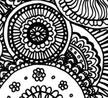Circles Doodle #1 Sticker
