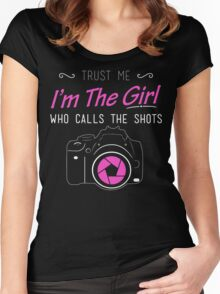 Women's Photography T Shirt Women's Fitted Scoop T-Shirt
