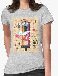 Surreal Eye Womens Fitted T-Shirt