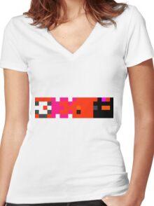 Simo Women's Fitted V-Neck T-Shirt