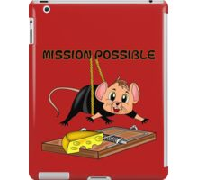Mission: Possible iPad Case/Skin