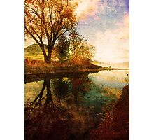 The Calm by the Creek Photographic Print