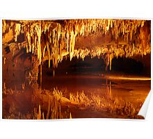 Cavern Reflection Poster