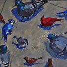Birds on the Street by peterrobinsonjr