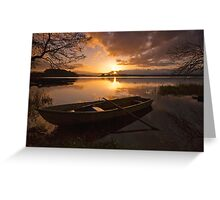 Lake of Menteith sunrise Greeting Card