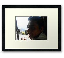 shaded Framed Print