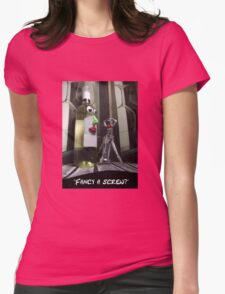 Fancy a screw? Womens Fitted T-Shirt
